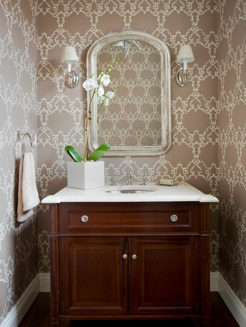 Best Half Bath Vanities Design Ideas & Remodel Pictures | Houzz
