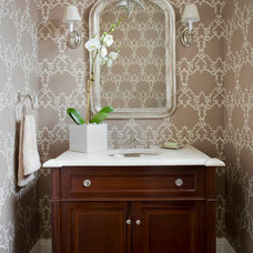Traditional Bathroom by JW Construction