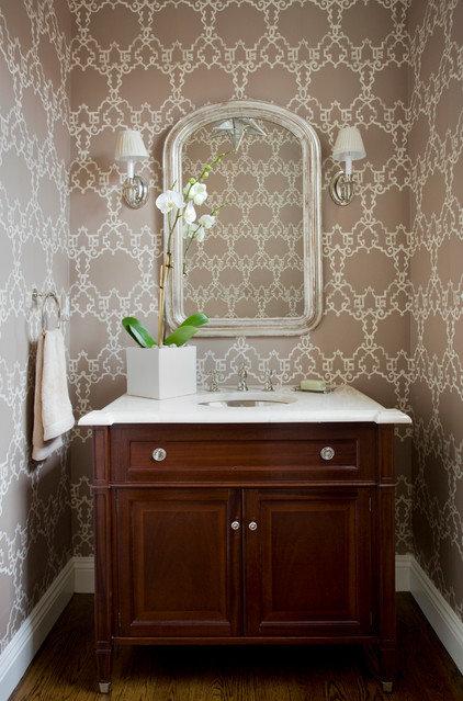 Traditional Bathroom by JW Construction