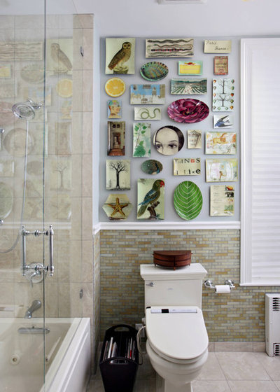 Eclectic Bathroom By Kati Curtis Design