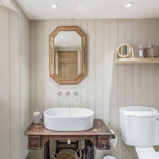 Inspiration for a country bathroom in Glasgow.