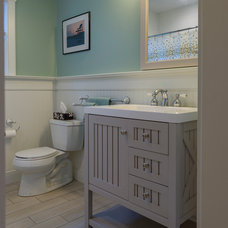 Beach Style Bathroom by A. R. Sinclair Photography