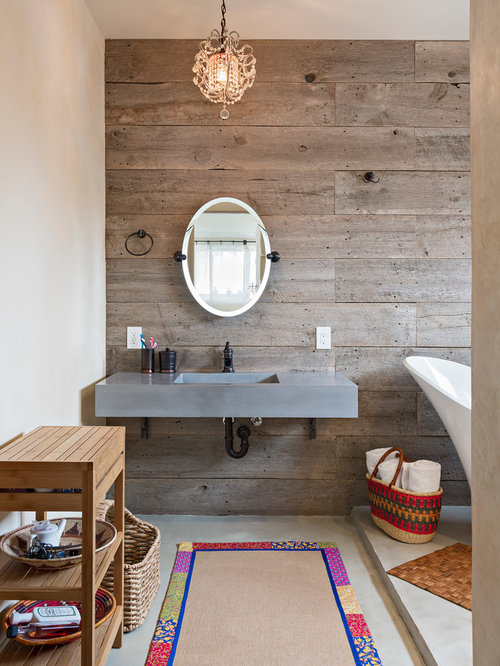 Barn Wood Wall Home Design Ideas, Pictures, Remodel and Decor