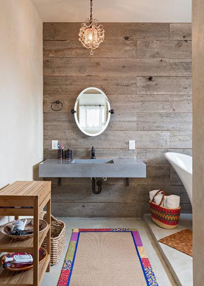 10 fa ons de sublimer sa salle de bains gr ce des mat riaux naturels. Black Bedroom Furniture Sets. Home Design Ideas