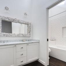 Contemporary Bathroom by Restructure Studio