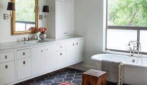 Having a design moment the bathroom - Bathroom makeover practical refreshing ideas ...
