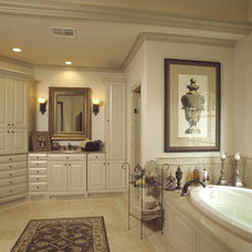 Eclectic Bathroom by GABRIEL HOME BUILDERS INC