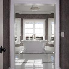 Traditional Bathroom by Kitchen and Bath Studios Inc