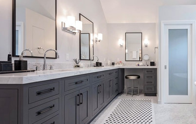 Bathroom of the Week: Elegant Update With Classic Marble