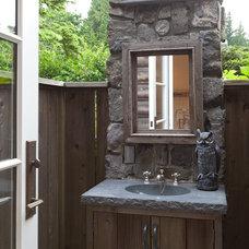 Traditional Bathroom by John McSkimming Construction Ltd