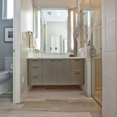 contemporary bathroom by Bryant Hill Media