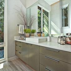 Contemporary Bathroom by Greenbelt Construction