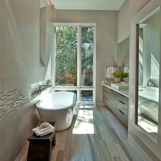 contemporary bathroom by Greenbelt Homes