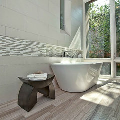contemporary bathroom by Cornerstone Architects