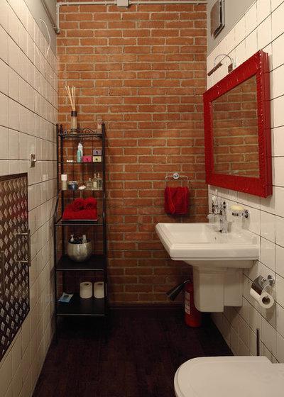 Industrial Bathroom by Roman Leonidov