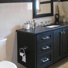 Contemporary Bathroom by Tracy Leah Interior Design