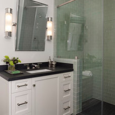 Transitional Bathroom by Ann Lowengart Interiors