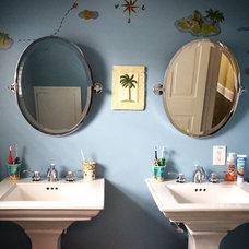 Traditional Bathroom by Colleen Brett