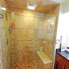Traditional Bathroom by R. B. Schwarz, Inc.