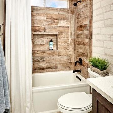 Boys Rustic Bathroom