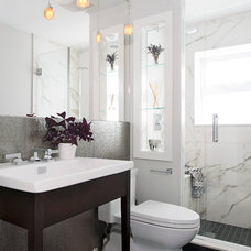 Contemporary Bathroom by Hicks Fine Homes - (Hicks Interiors Inc.)