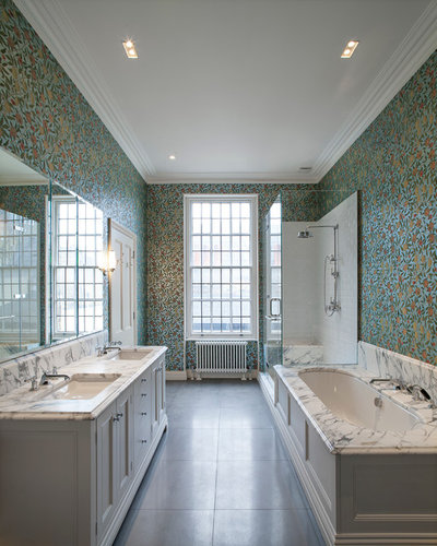 Traditional Bathroom by Maxwell & Company Architects