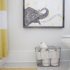 Eclectic Bathroom by Gather & Build