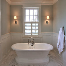 Traditional Bathroom by Finecraft Contractors, Inc.