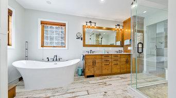 Bragg Creek Bathroom and Ensuite