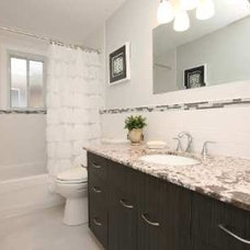 Traditional Bathroom by Sunlight Staging & Home Decor