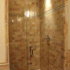 Traditional Bathroom by ZAREA Architecture, Inc.