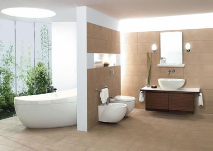 modern bathroom by brand1.co.uk