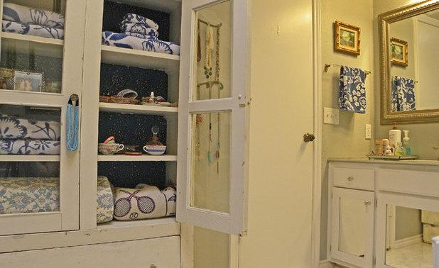 Shabby-chic Style Bathroom by Sarah Greenman