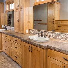 Rustic Bathroom by Western Design International