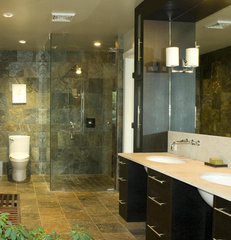 contemporary bathroom by Perkins Smith Design Build