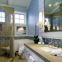 contemporary bathroom by Viscusi Elson Interior Design - Gina Viscusi Elson