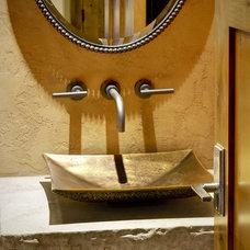 Contemporary Bathroom by Slifer Designs