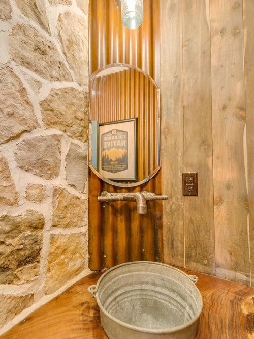 Rustic Bathroom Flooring Ideas : Rustic bath and shower room design ideas renovations
