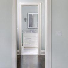 Contemporary Bathroom by Braam's Custom Cabinets