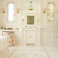 Traditional Bathroom by Elizabeth Dinkel