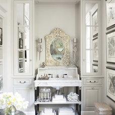 Contemporary Bathroom by Candace Barnes