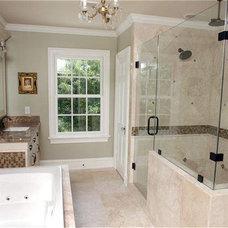 Traditional Bathroom by Spencer Howard Design + Construction Management