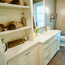 Traditional Bathroom by P2 Design