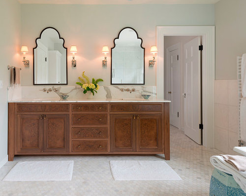 Shaped Mirror Ideas, Pictures, Remodel and Decor