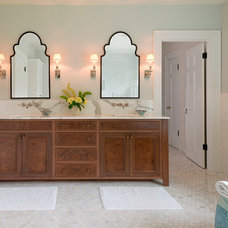 Traditional Bathroom by Jenni Leasia Design