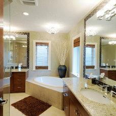 Contemporary Bathroom by Kurmak Builders