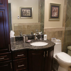 Traditional Bathroom by East Hill Cabinetry