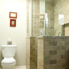 Craftsman Bathroom by Kingsley + Ginnodo Architects