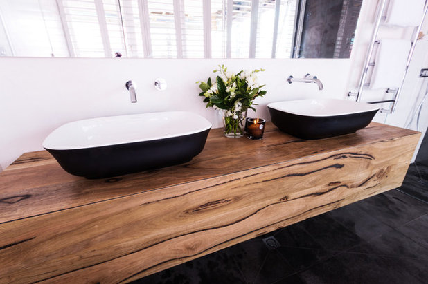 Contemporary Bathroom by Brickworks Building Products