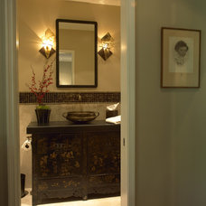 Asian Bathroom by Diane Bennett Bedford